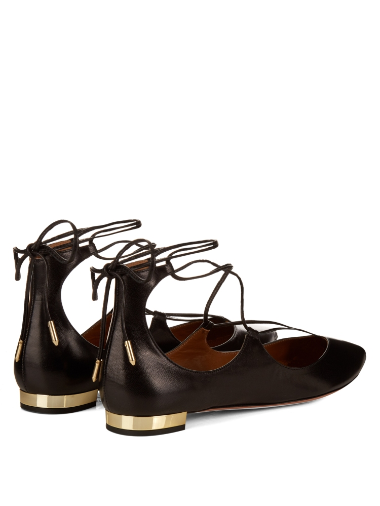 Christy leather flats